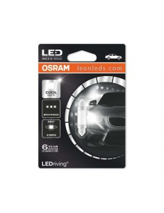 Bombilla LED Festoon 41mm de Osram para la matricual o interior del vehículo - Osram LedDriving | LeonLeds Iluminación