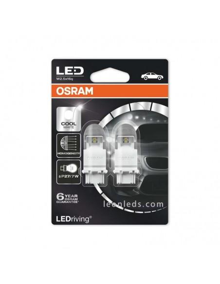 Bombilla LED P27/7W de Osram LED dos funciones - Para luz de posición y freno en la misma Bombilla | LeonLeds Iluminación