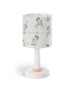 Lámpara de Sobremesa Infantil Unicornios y Arcoiris para princesas y principitos   Leonleds Iluminación