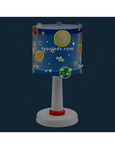 Lámpara de Techo Infantil Serie Planets Planetas Astronauta nave espacial venus Neptuno Estrellas | LeonLeds Infantil