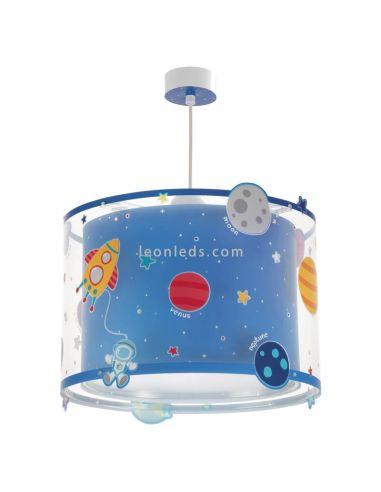 Lámpara de Techo Infantil Serie Planets Planetas Astronauta nave espacial venus Neptuno Estrellas | LeonLeds