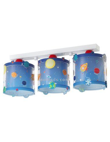 Lámpara de Techo Infantil Serie Planets Planetas Astronauta nave espacial venus Neptuno Estrellas   LeonLeds Iluminación