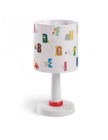 Lámpara de Sobremesa Infantil Serie ABC Dalber 72271 Abecedario | LeonLeds Iluminación