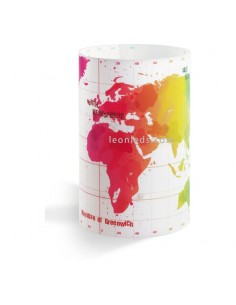 Lámpara Sobremesa Infantil mapara del mundo Dalber Serie Map 42721 Infantil Juvenil Mapa mundial   LeonLeds Iluminación