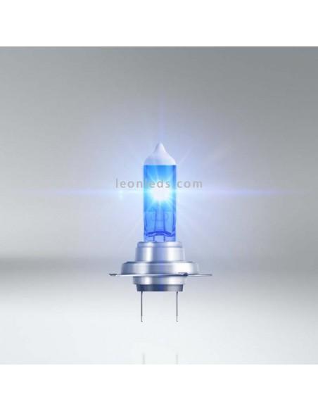 Bombillas H7 Cool Blue Boost para vehículos de 12V +50% de luz azul 5000K Osram baratas | LeonLeds Iluminación
