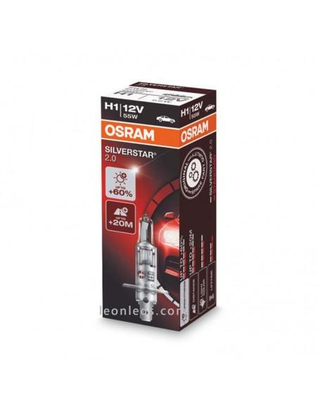 Bombilla H1 Faro Principal para vehículos 12V +60% Osram - 1 Unidad al mejor precio | Leonleds Iluminación