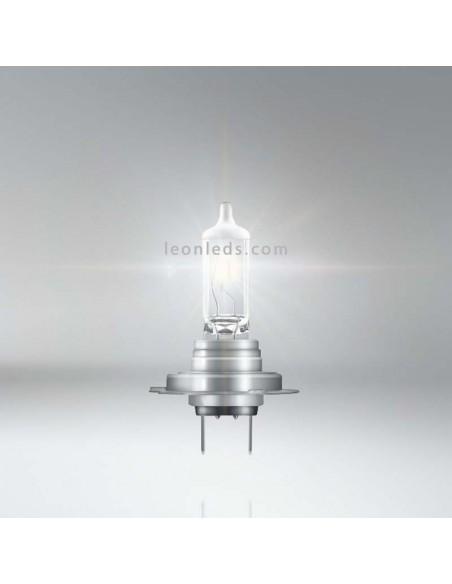 Bombilla H7 Silverstar 2.0 para faro principal de vehículos 12V +60% Osram - 1 Unidad 64210SV2 | LeonLeds Iluminación