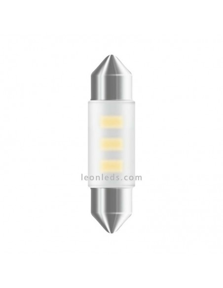 Bombilla LED Festoon C5W 36mm Osram Standard (1Uds) al mejor precio | LeonLeds Iluminación