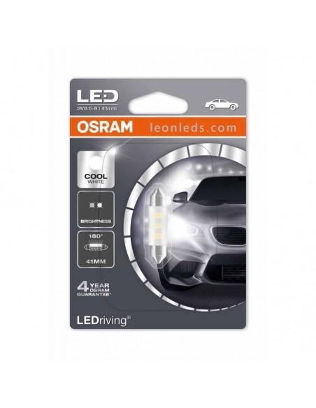 Bombilla LED Festoon C5W 41mm Osram Standard (1Uds) al mejor precio   LeonLeds Iluminación