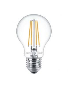Bombilla Led Philips E27 A60 -7.5W- Filamento 300º | Bombilla LED A60 Vintage | LeonLed Iluminación