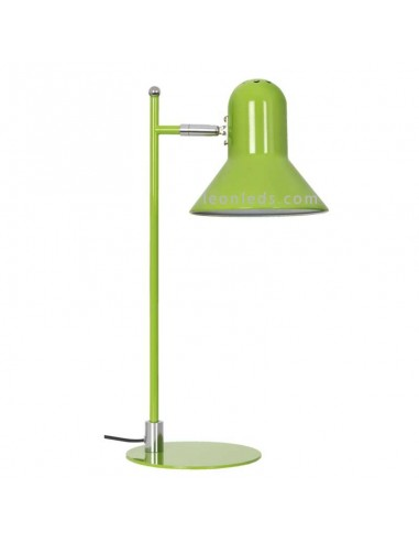 Flexo de estudio Verde Corinto 1XE27 para oficinas o mesas de estudio en oferta | LeonLeds Iluminación