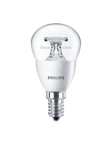 Bombilla LED Esferica P45 E14 Philips CorePro | Bombilla Esferíca LED Decorativa P45 E14 | LeonLeds.com
