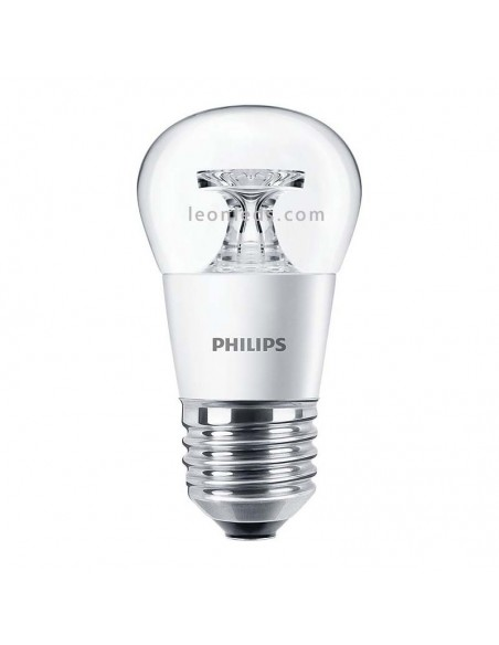 Bombilla LED Esferica E27 Decorativa de Philips | Philips LED Esferica 5.5W equivalente a 40W | LeonLeds