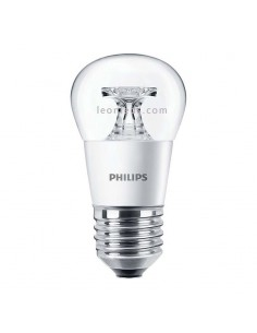 Bombilla LED Esferica E27 Decorativa de Philips | Philips LED Esferica 4W equivalente a 25W | LeonLeds