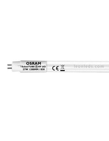 Osram SubstiTUBE Advance T5 HF-HO-G5 1200MM 27W Alto Flujo Luminico   Tubo LED T5 Osram   LeonLeds