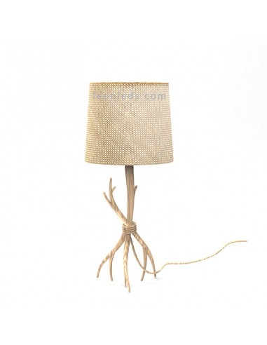 Lámpara Pie de Sobremesa Rústica Serie Sabina 6181 de Mantra | LeonLeds Iluminación