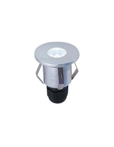 Foco empotrable LED exterior IP65 pequeño | Baliza Empotrable LED redonda empotrable IP65 | LeonLeds Iluminación