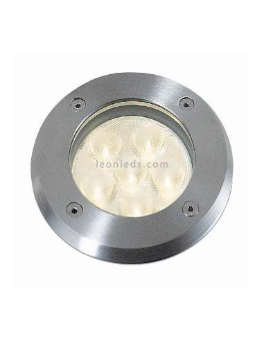 Foco LED Empotrable LOO 3W 4000K | Foco empotrable LED redondo Acero Inox | LeonLeds Iluminaciaón