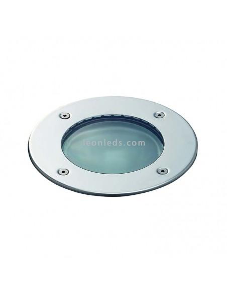 Foco LED Empotrable Walker 6.5w 3000K | Foco empotrable LED redondo Acero Inox | LeonLeds Iluminación