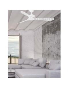 Ventilador de Techo Luzon Ø132 CM Blanco Sin Luz de Faro Barcelona 33750 | LeonLeds Iluminación