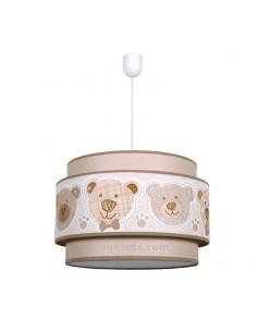 Lámpara Infantil de techo serie Panda Camel 35Cm 1XE27 | Lámpara infantil de techo barata Camel | LeonLeds Iluminación