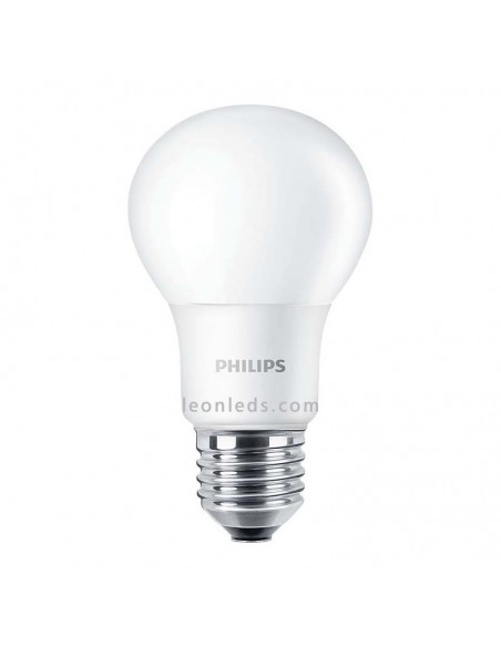 Bombilla de Led Philips E27 A60 8.5W CorePro | Bombilla LED E27 Regulable Philips CorePro | LeonLeds Iluminación