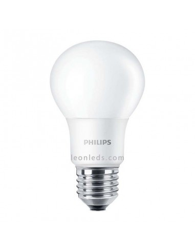 Bombilla Led Philips E27 A60 -5.5W- CorePro   Bombilla LED Philips 5W A60 E27   LeonLeds Iluminación