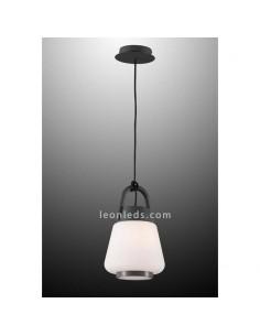 Lámpara de techo Exterior Blanca y Gris Antracita Kinké | Lámpara colgante exterior Kinke 6210 | LeonLeds