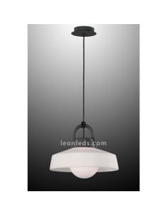 Lámpara de techo Exterior Moderna Kinké | Lámpara colgante exterior Grande Kinke 6212| LeonLeds