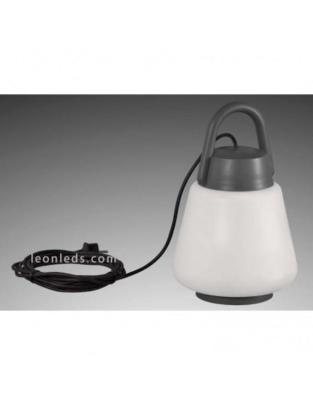 Lámpara de exterior Versatíl | Lámpara para exterior de sobremesa | Lámpara colgante exterior | LeonLeds