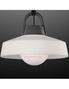 Lámpara de pie Exterior Kinké 6217 | Lámpara para exterior de pie | Lámpara colgante portable exterior | LeonLeds