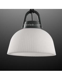 Lámpara de pie Exterior Kinké | Lámpara para exterior de pie | Lámpara colgante portable exterior | LeonLeds