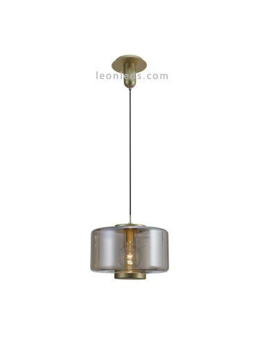 Lámpara de Techo Vintage bronce | Lámpara colgante Jarras 6192 | Lámpara de techo barata | LeonLeds