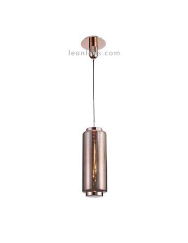 Lámpara de techo Vintage moderna   Lámpara colgante moderna   Lámpara de techo Cobre   LeonLeds