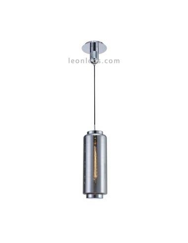 Lámpara de techo Vintage moderna   Lámpara colgante moderna   Lámpara de techo Cromo   LeonLeds