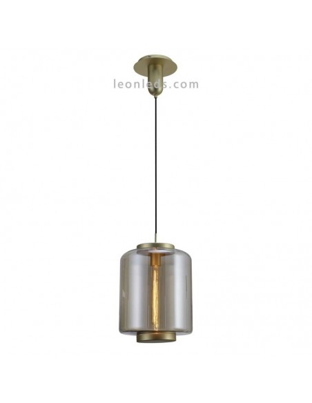 Lámpara de techo Vintage moderna   Lámpara colgante moderna 6195   Lámpara de techo Bronce   LeonLeds