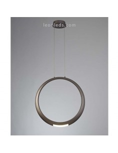 Lámpara de Techo LED moderna | Lámpara colgante Bronce LED | Lámpara LED Ring de mantra | LeonLeds