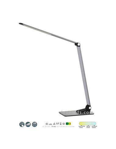 Lámpara Flexo de mesa LED 9W High School moderno 6237 de Mantra Iluminación | LeonLeds Iluminación