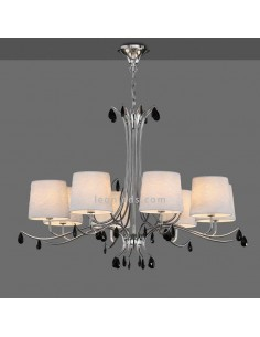 Lámpara de Techo araña con pantallas | Lámpara de techo Andrea | Lámpara colgante araña | Leonleds