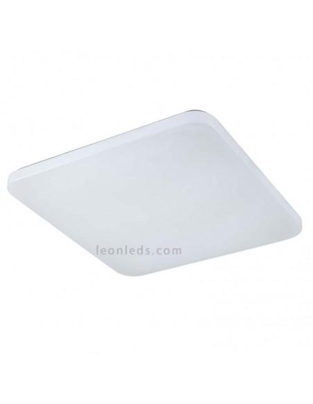 Plafón de Techo LED Grande | Plafón cuadrado LED potente para Cocina | Plafón LED Luz Natural | LeonLeds Iluminación