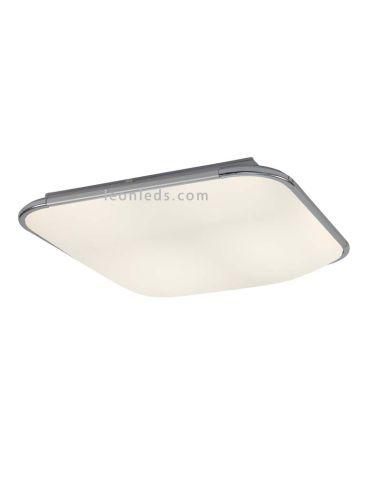 Plafón de Techo LED moderno Fase 6249 | Plafón Cuadrado LED Aluminio | Plafón LED cuadrado 6249 | LeonLeds Iluminación