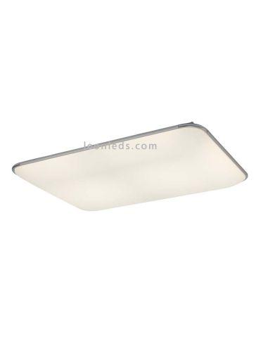 Plafón LED con mando a distancias | Plafón LED rectangular Fase 6247 | LeonLeds Iluminación