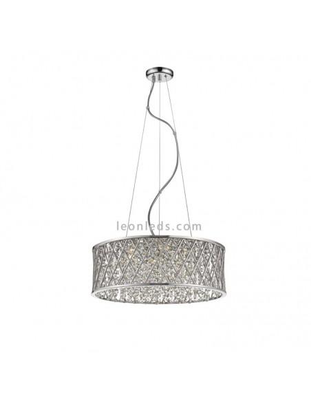 Lámpara de Techo Destello 6255 | Lámpara Colgante Cromada Destello | Lámpara de Techo 6255 | LeonLeds
