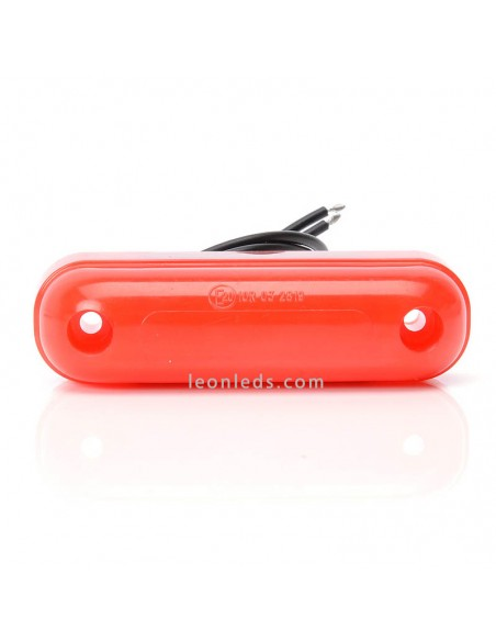 Piloto de Galibo LED Rojo | Piloto LED para Remolque | Piloto Rojo Efecto Neon | LeonLeds Iluminación