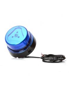 Rotativo LED Magnético Azul con Tornillos | Rotativo LED con cable para sujetar con tornillos | LeonLeds Iluminación
