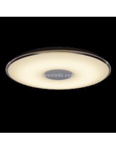 Plafón LED para techo redondo | Plafón LED redondo con mando a distancia | Plafón para techo LED moderno | LeonLeds iluminación