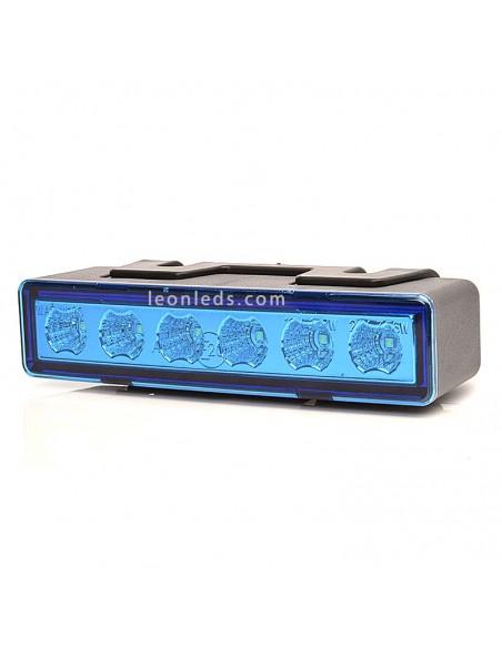 Piloto LED Estroboscópico Azul | Piloto LED de Luz Azul estroboscópico | Piloto LED Azul con 7 programas | LeonLeds Iluminación