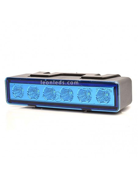 Piloto LED Estroboscopico Azul   Piloto LED de Luz Azul con tulipa transparente   Estroboscopico LED   LeonLeds Iluminación