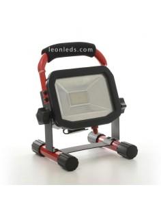 Proyector LED Portátil | Proyector LED de batería | Proyector LED recargable portátil | LeonLeds Iluminación
