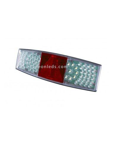 Piloto trasero LED de remolque   Piloto LED trasero TruckLite M756   LeonLeds Iluminación